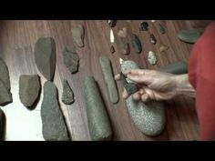 How to Identify Ancient stone Indian artifacts through pecking and grinding