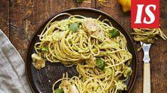Simppeli pasta syntyy alle puolessa tunnissa ja maistuu aivan mahtavalta.