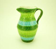 $29.99 Bitossi Pitcher Italian Mid Century Modern Vintage Art Pottery Pitcher / Vase Mad Men Era Italy Rosenthal Netter Aldo Londi Raymor Desimone