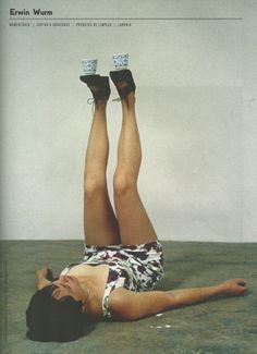 Direto da mag! #32 » One Minute Sculptures, de Erwin Wurm