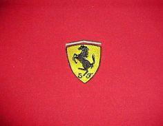 Ferrari 2000 Official Licensed Product Men Red Gray Polo 1/4 Zipper Shirt 2XL #Ferrari