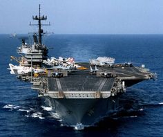 Photo Images of the USS Saratoga Cv-60   with CVW-17 embarked - 1985