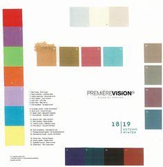 Premiere Vision 2018-19 A/W 6 ベストカラー | テキスタイルウォッチング テキスタイルディレクター・北川美智子の甘辛トーク