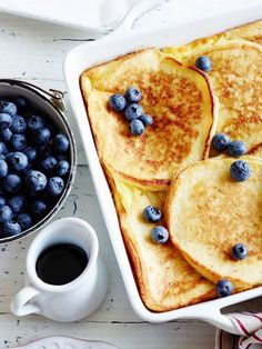Make ahead brunch ideas. All you have to do is pop one in the oven the morning of your party.