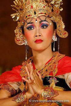 Legong Dance - Ubud Palace, Bali, Indonesia