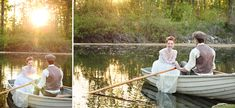 Anne of Green Gables Wedding Inspiration. Rowboat photos. http://www.jessicazaisblog.com/weddings/anne-of-green-gables-wedding-inspiration-photos/