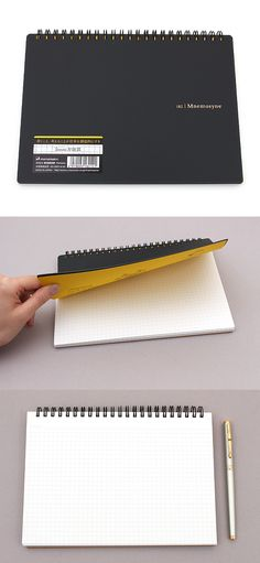 Maruman Mnemosyne Inspiration Notebook pages are acid-free, so they won't yellow over time. This smooth paper also works well with fountain pen inks!