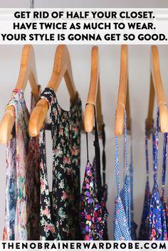 i LOVE my closet now