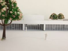Architectural model of kindergarten