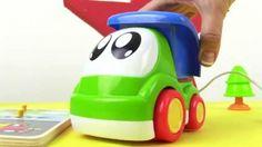 Развивающие Мультики - игрушки для самых маленьких. Грузовичок Малыш и пазлы http://video-kid.com/10451-razvivayuschie-multiki-igrushki-dlja-samyh-malenkih-gruzovichok-malysh-i-pazly.html  Мультфильмы для самых маленьких. Малыш Грузовичок собирает игрушечные деревянные паззлы. Эта развивающая игрушка поможет детям запомнить названия разных машин и виды транспорта. Маша положит на место вертолёт, самолет, ракету, кораблик, машинку. Игрушечный грузовичок найдет в гараже самосвал и привезет его…