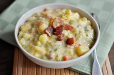This loaded broccoli cheese and bacon soup is luxurious. Cheesy and creamy and so incredibly hearty and delicious.