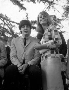 Paul with Peggy Lipton