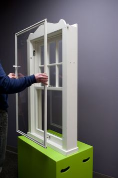 Indow Windows: custom window inserts are a low-tech alternative for creating a more energy efficient home; as efficient as double-pane windows at one-fifth the cost Energy Efficient Homes, Energy Efficiency, Soundproof Windows, Window Inserts, Window Fitting, Acrylic Panels, Home Theater Rooms, Custom Windows, Eco Friendly House