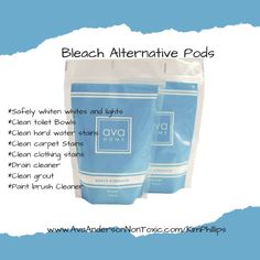 Ava Anderson Non Toxic Bleach Alternative Pods.....love these! And so many other uses!