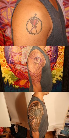 Cover up Tattoo.  Tattoo by Daemon Rowanchilde.  www.urbanprimitive.com