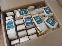 ボストンから新しいコーヒーとコーヒーメーカーが届いて、検証なう!