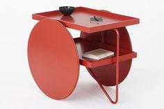 Chariot is a minimal cart designed by Copenhagen-based design firm GamFratesi Studio.