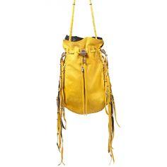 medicine bag in yellow