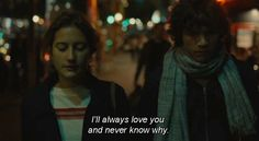 "From the French film ""Goodbye First Love"""