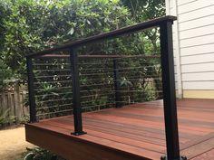 Railings | VIS Design Portland Garden, Railings, Deck, Stairs, Outdoor Decor, Design, Home Decor, Stairway, Decoration Home