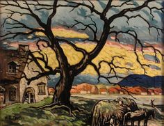 Art Painting, Landscape Paintings, Witch Art, Fine Art, Definition Art, Painting Inspiration, Painting, Canadian Painters, Minimalist Art