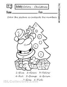 Free Printable Color By Numbers Worksheets #20 of 20 - printable-icio.ru