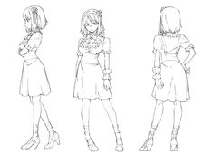 だがしかし:主要キャラクターの設定画公開 - MANTANWEB(まんたんウェブ)
