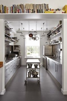 London Architecture And Design Firm Project Orange Designed A Commercial  Galley Kitchen For A Couple Who Run A Monthly Dining Club Out Of Their Home. Awesome Design