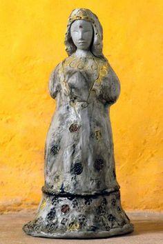 Susie Prunes - Sara Kali Escultura em Cerâmica
