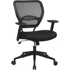 Costco! $119.99 after $40 OFF  SPACE® Air Grid™   Black Mesh Office Chair