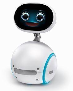 Der Asus Zenbo ähnelt einer Mischung aus den Filmrobotern BB-8 und Wall-E.