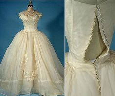 Antique Dresses-If I didn't have my mother's wedding gown, I think I might be married in this instead...