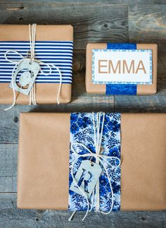 DIY Personalized Gift Wrapping from MichaelsMakers A Thoughtful Place Blog
