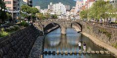Viajar a Kyushu: El puente Megane y los otros puentes de Nagasaki - Japonismo