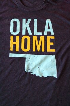 OklaHome T-shirt from Popprints