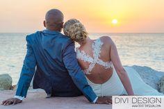 Huwelijksfotograaf zonsondergang Curacao - Divi Design