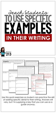 Help your kids move from general to specific in their writing so they can fully develop their ideas. Writing Strategies, Writing Lessons, Teaching Strategies, Writing Skills, Teaching Resources, Writing Ideas, Creative Writing, Teaching Time, Teaching Writing