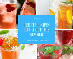Top 10 Iced Tea Recipes to Try Out This Summer . Top 10 Iced Tea Recipes to Try Out This Summer 30 Best Keto Casserole Recipes for Weight Loss – The Food Explorer Iced Tea Recipes, Scone Recipes, Cookie Recipes, Keto Recipes, Breakfast Recipes, New Mexican Biscochitos Recipe, Green Tea Ingredients, Pea Salad Recipes, Prawn Recipes