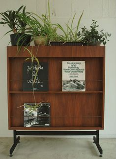 TRUCK Furniture  Afromosia Cabinet / Partition