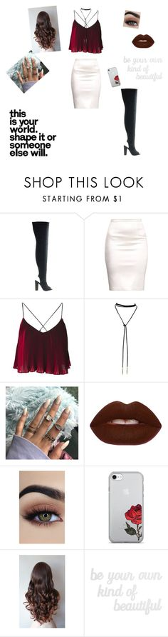 """""""You're a walk in the park - Contest"""" by stephanie-black56-love ❤ liked on Polyvore featuring Lime Crime and PBteen"""