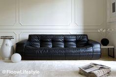 moderne polstermöbel wohnzimmer weiß ecksofa modular grüner teppich ...