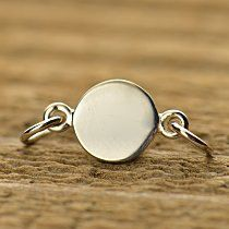 Hey, I found this really awesome Etsy listing at https://www.etsy.com/listing/197359987/sterling-silver-small-circle-stamping