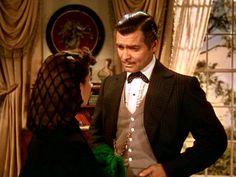SCARLETT: Oh, Rhett, is Ashley in it?  RHETT: So you still haven't gotten the wooden headed Mr. Wilkes out of your mind?
