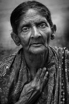 Photographer Name : R Thiagarajan Title : Survival… | 121clicks.com25 Best Entries of The Black and White Portrait Contest - 121Clicks.com
