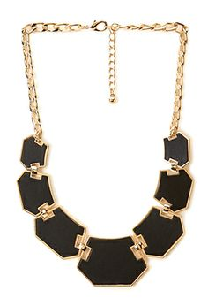 Geo Charm Chain Necklace   FOREVER21 - 1000125091