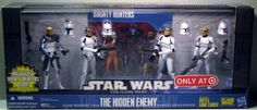 Star Wars 2010 Exclusive Action Figure 4Pack Battle Pack Hidden Enemy Captain Rex, Sgt. Slick, Clone Troopers Chopper Gus Hasbro http://www.amazon.com/dp/B003KRFX52/ref=cm_sw_r_pi_dp_FFmIub08YA9HA