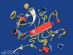 Dr. Swiss T-Shirt - http://teecraze.com/dr-swiss-t-shirt/ - Designed by Steven Lefcourt #tshirt #tee #art #fashion #clothing #apparel
