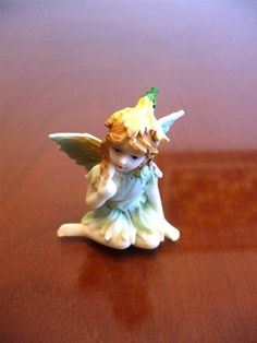 Vintage Sculpture  Sitting Pixie Figurine 275 by HIPROGRESS, $7.00