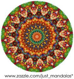 New for 2016. Jellybean Mandala from Janusian Gallery and Just Mandalas.