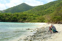 Want A St. John Beach All To Yourself? | Explore a Nearly Secret St. John Beach
